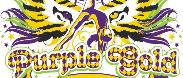 Purple & Gold Gymnastics