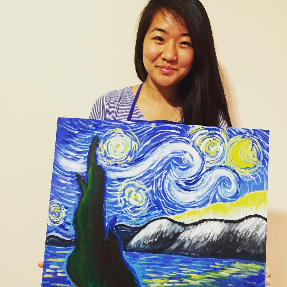 ART BOX Painting - Starry Night