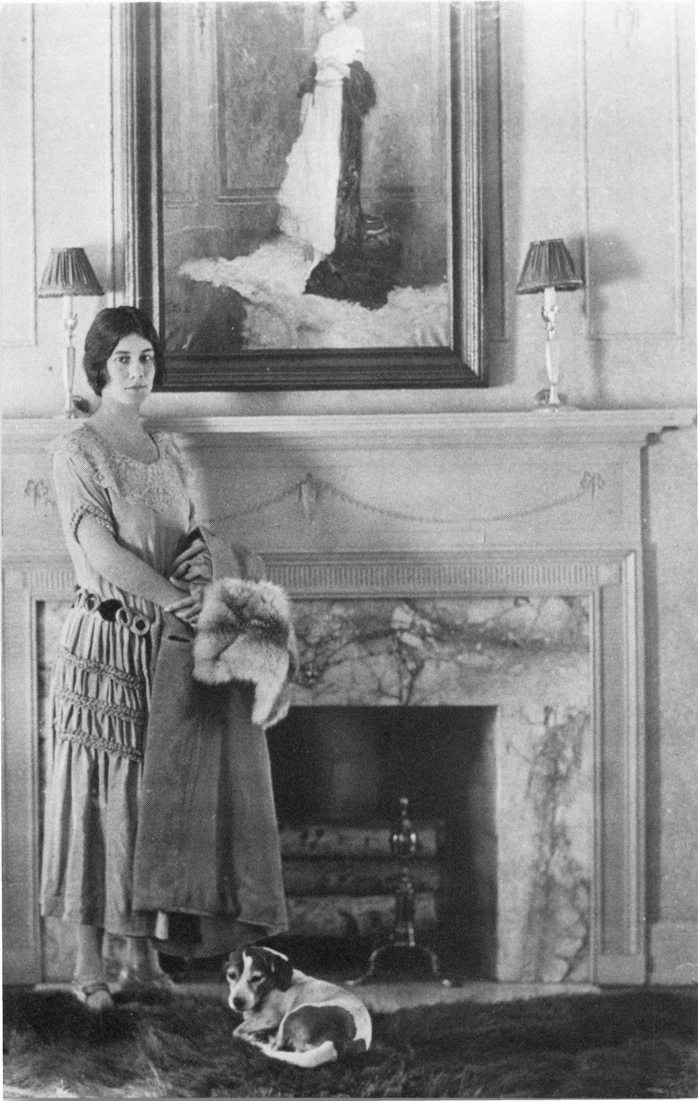 Ethel Curwood at her home on 508 West Williams Street