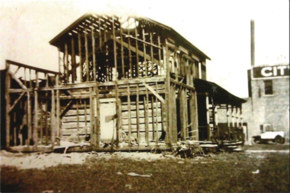 When Standard Oil Company purchased the property in 1920, they began to tear down the house only to discover the Comstock Cabin perfectly preserved inside.