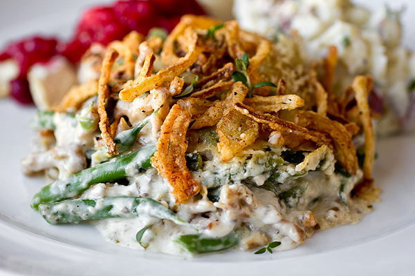 Homemade Green Bean Casserole from the Midwest