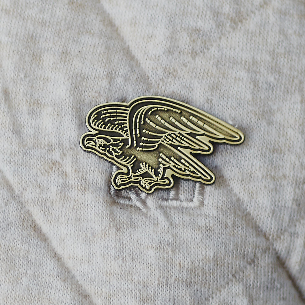 Civil Coffee Eagle Pin