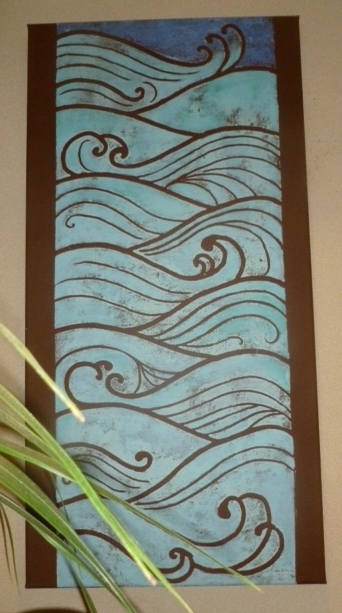 Art Deco Waves