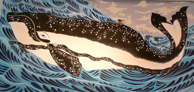 Kuniyoshi's Whale Rider