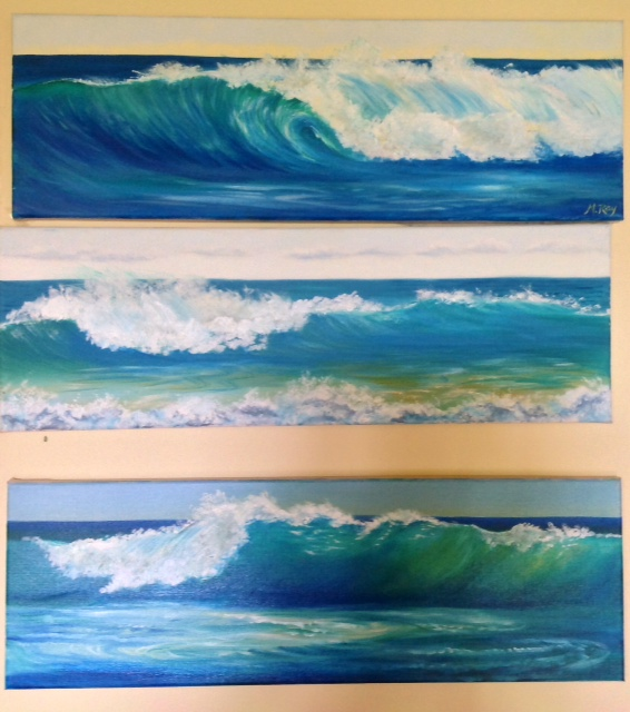 The Waves (1, 2 & 3)