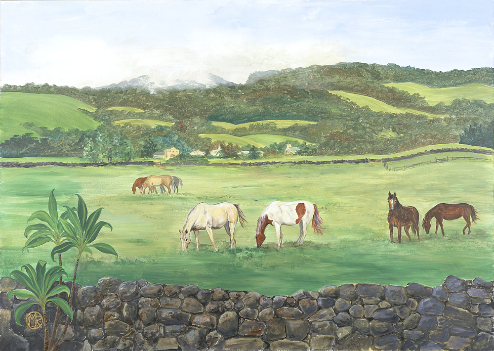 Paniolo Horses