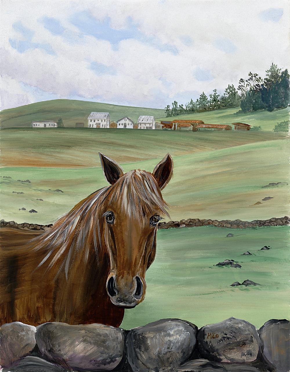 Waiki'i Horse