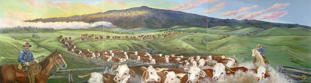 Sunrise Cattle Drive