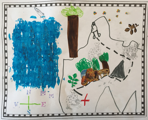 Finley's map (age 6)