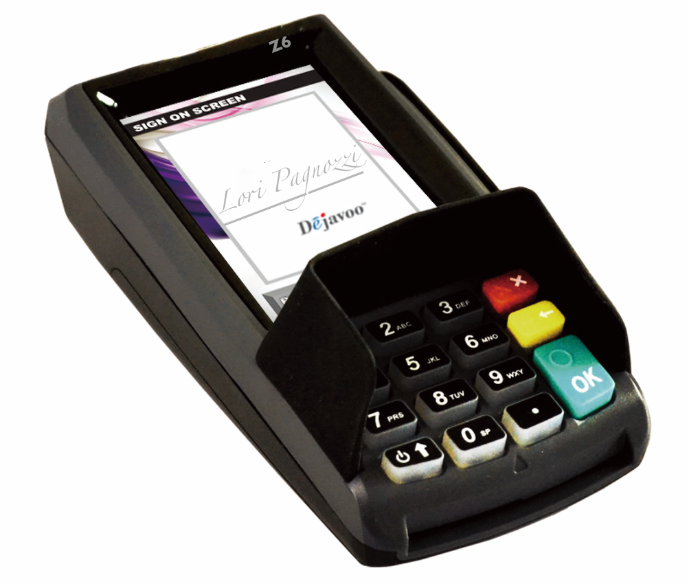 Dejavoo Z6 Touch Pin Pad Terminal Cloud Pos Integration