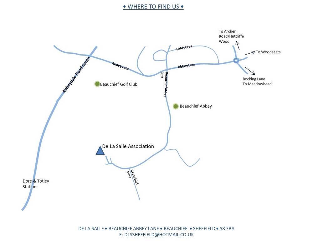 De La Salle - where to find us...