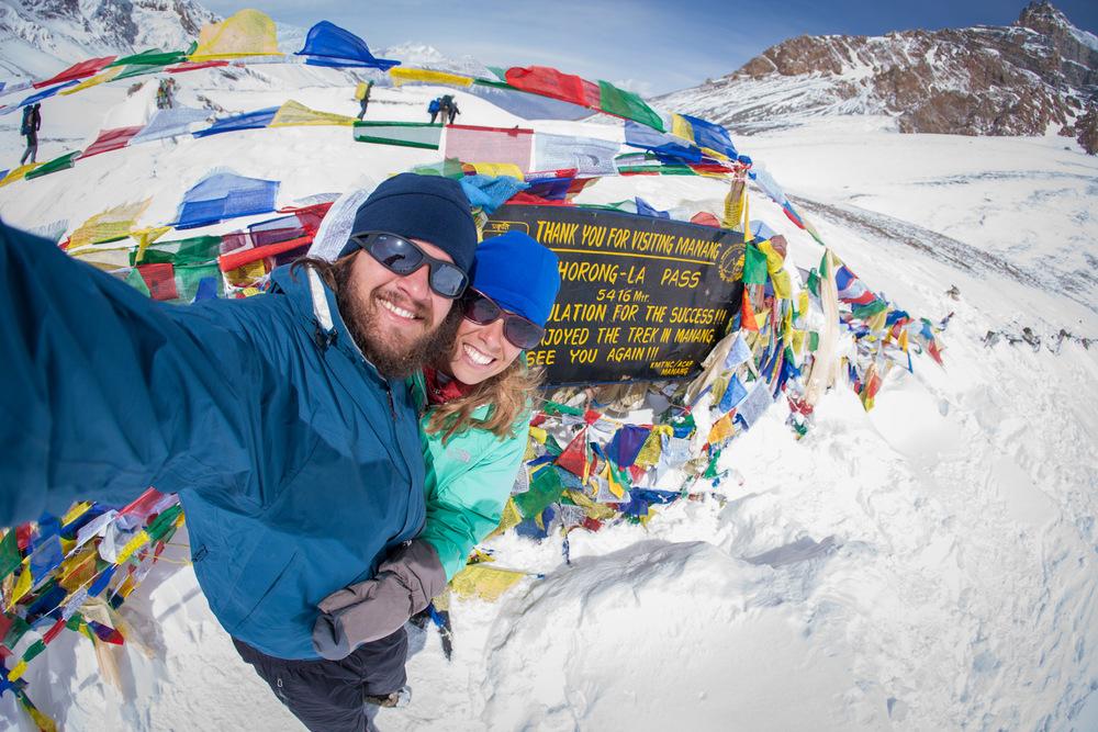 Thorong La Mountain Pass ( 17,769 feet)Nepal
