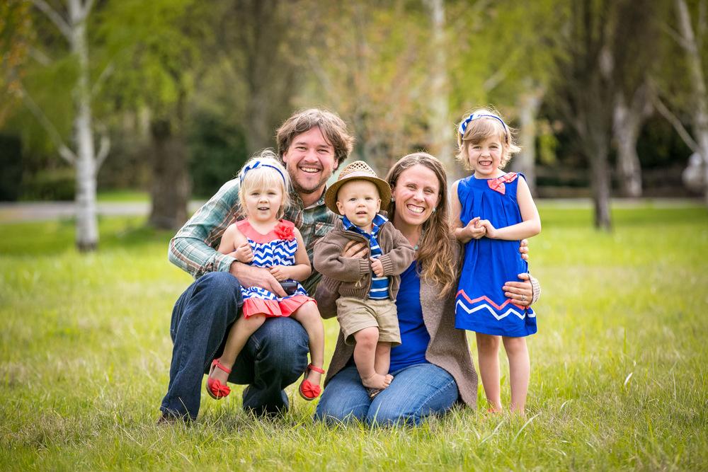 Family Portrait, Easter 2015