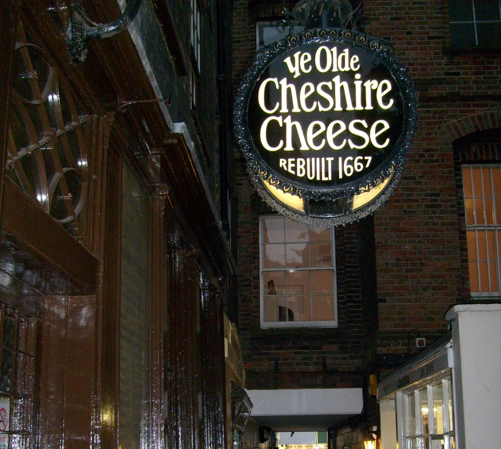 Ye Old Cheshire Cheese