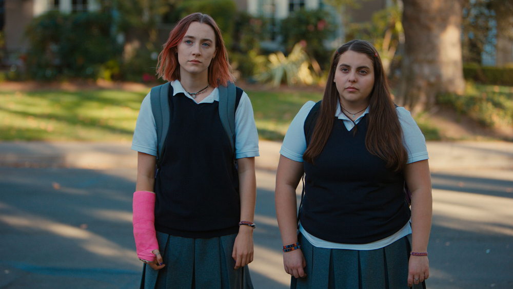 Lady Bird and Julie - all rights to A24
