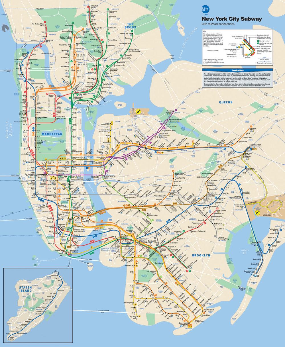NYC Subway Map