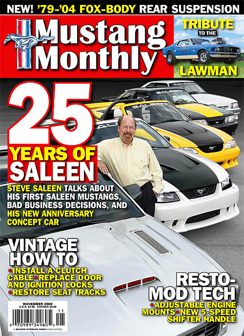 Mustang Monthly - November 2008