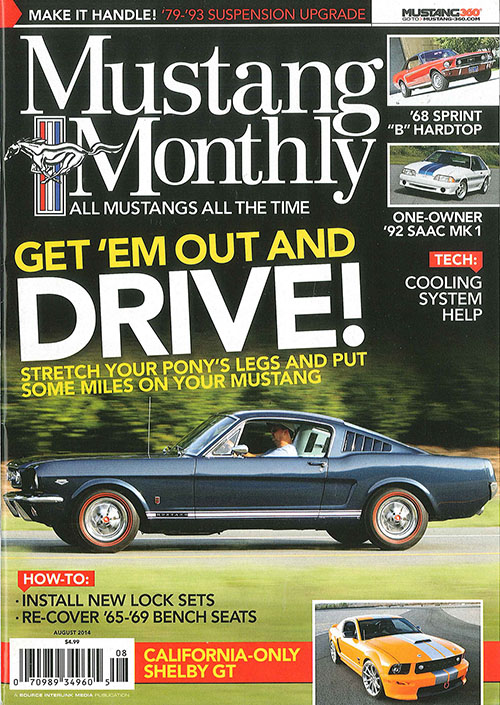 Mustang Monthly - August 2014