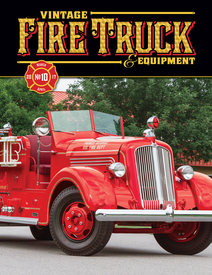Vintage Fire Truck & Equipment - Issue #10