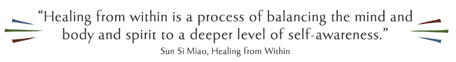 Healing from within deeper self-awareness