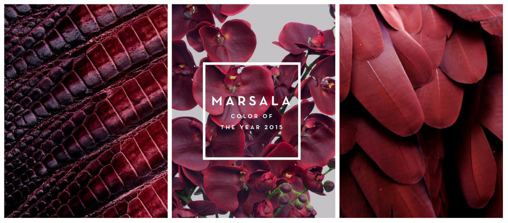 MARSALA COLOR PANTONE F/W 2015 BY WWW.THEVANILLAWOODS.COM