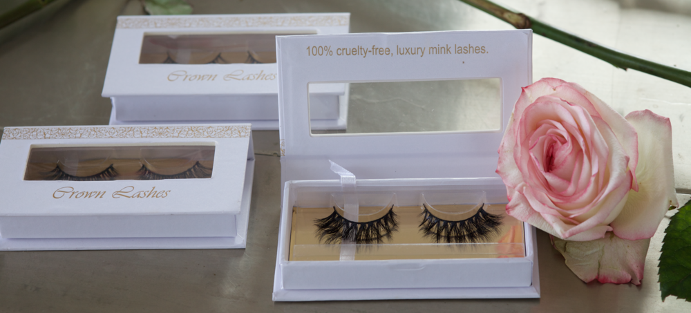 CROWN LASHES - Collaboration with UK blogger Maureen Kragt, based on London (2)