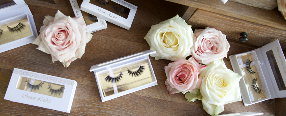 CROWN LASHES - Collaboration with UK blogger Maureen Kragt, based on London