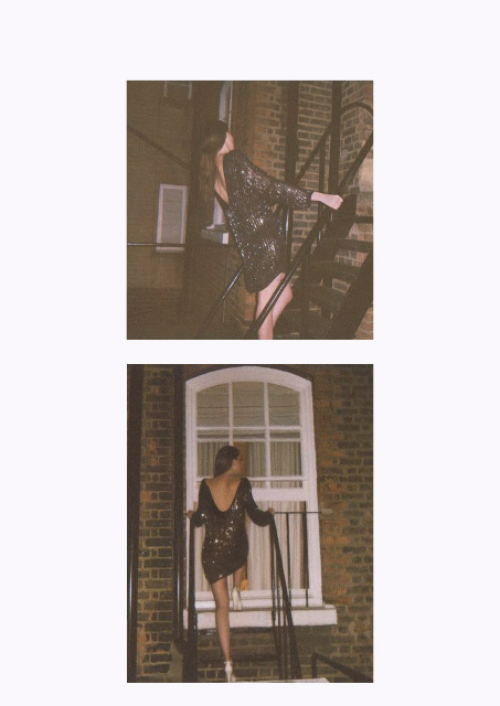 BLAST FROM THE PAST  London by night featuring Fashion Influencer Maureen Kragt Photographed & Styled by Angela Mosley  (1)