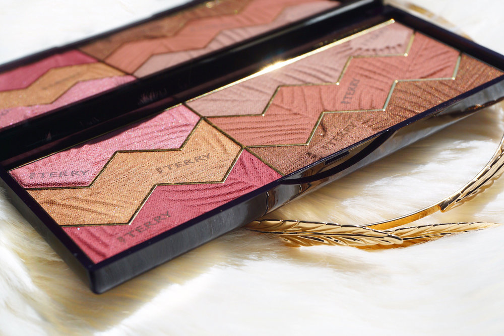 Maureen tries the by terry sun designer palette