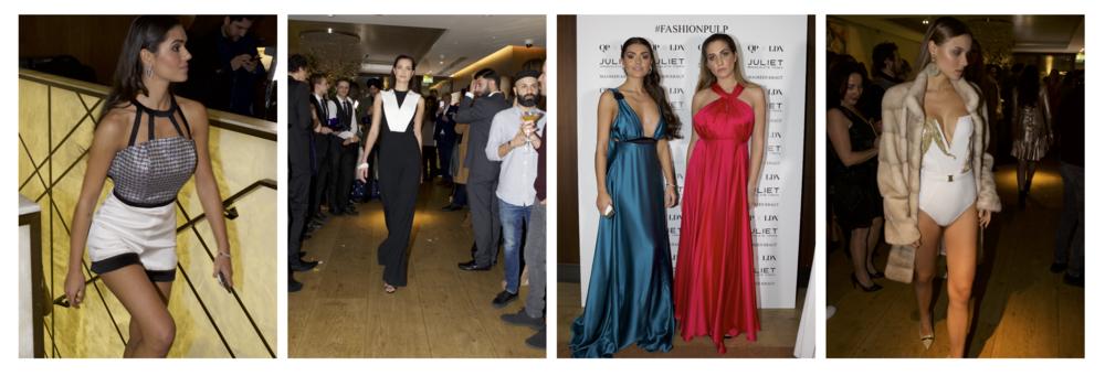 Maureen kragt Fashion event in London