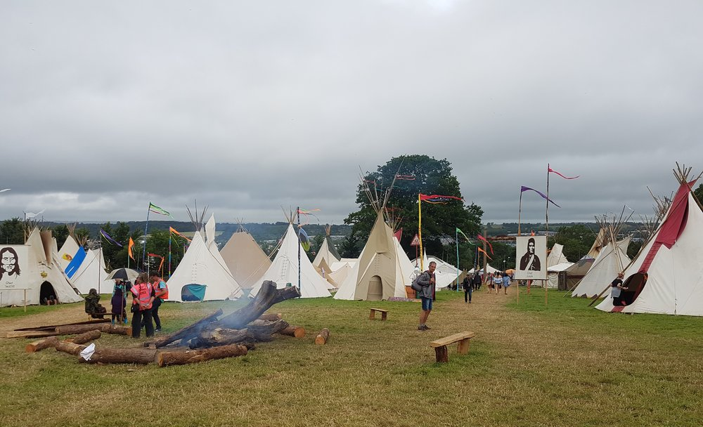 Tipi field, the lifestyle