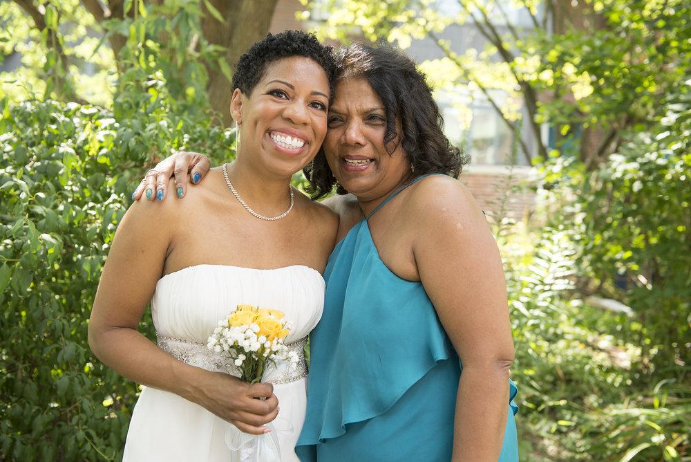 Sasha and her Mom