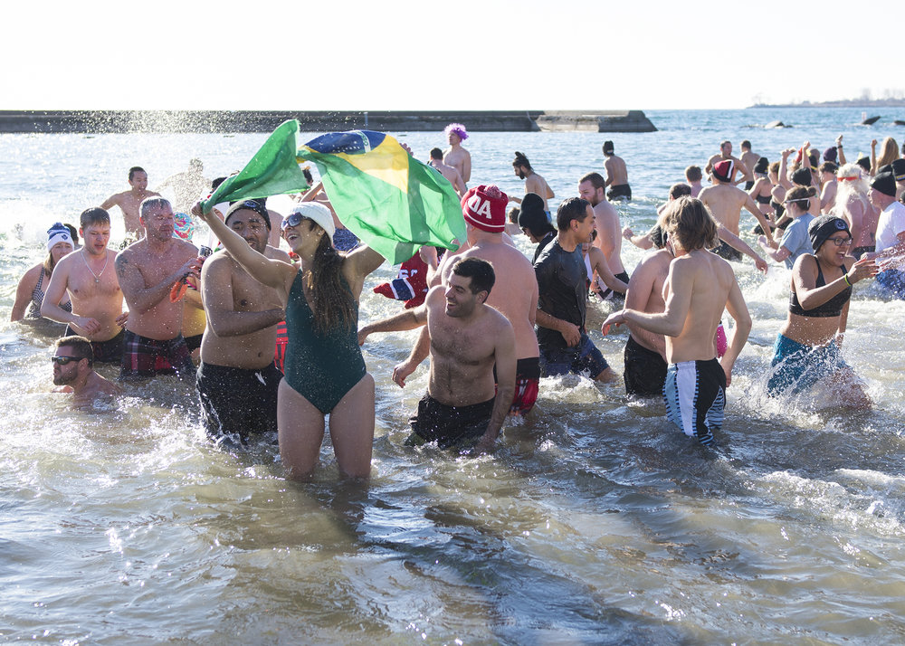 Habitat for Humanity Polar Bear Dip, 2017.