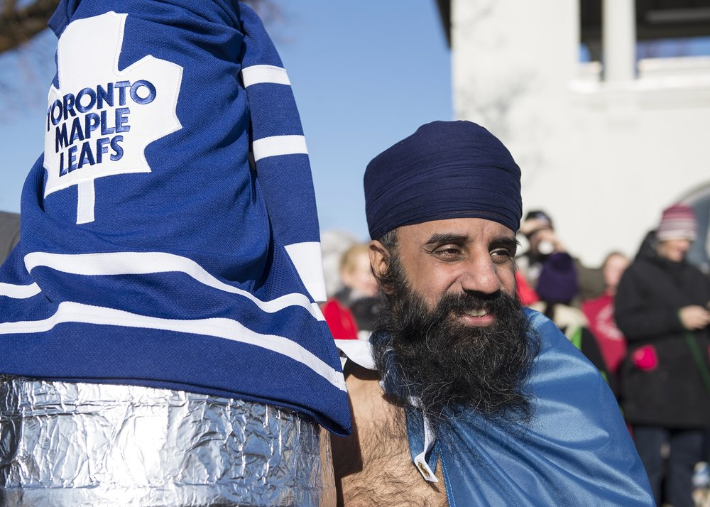 A Dipper and a Toronto Maple Leaf Fan