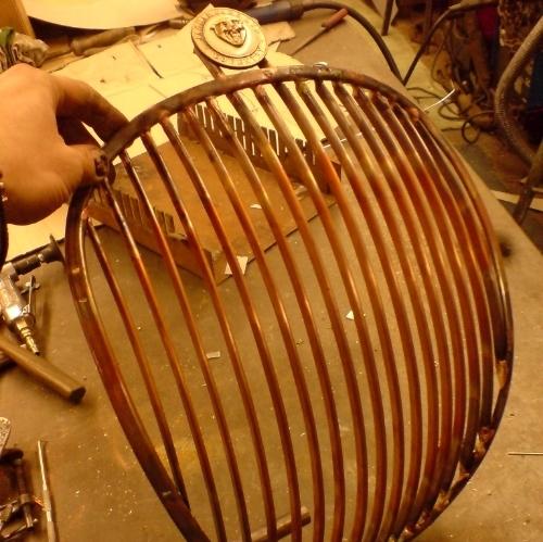 Jaguar radiator grill