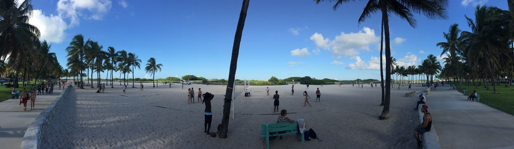 270 degrees of South Beach workout.