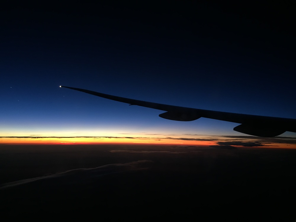 The dawn of a new day.