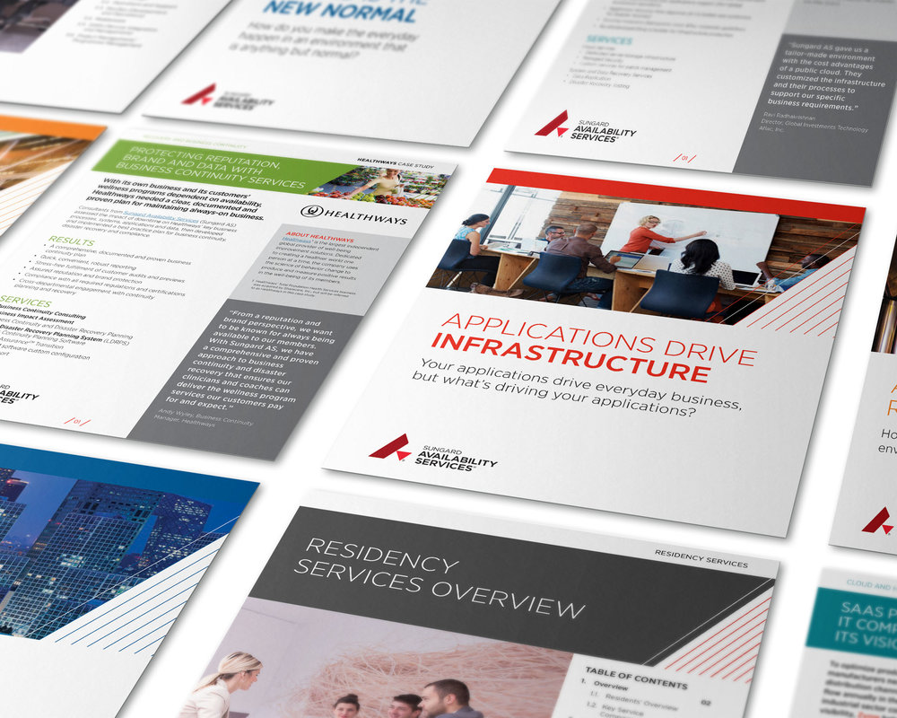 Sungard Availability Services | Branding Refresh