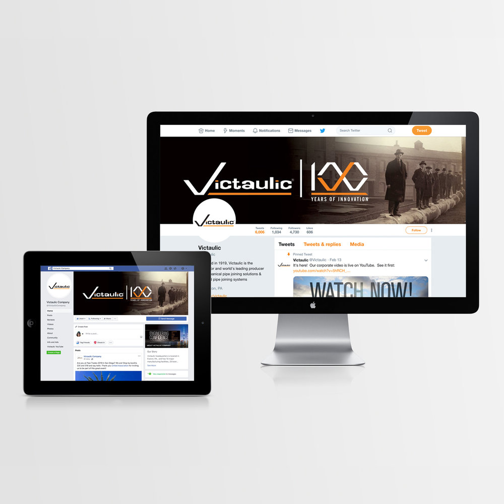 Victaulic | 100 Years of Innovation Social Media