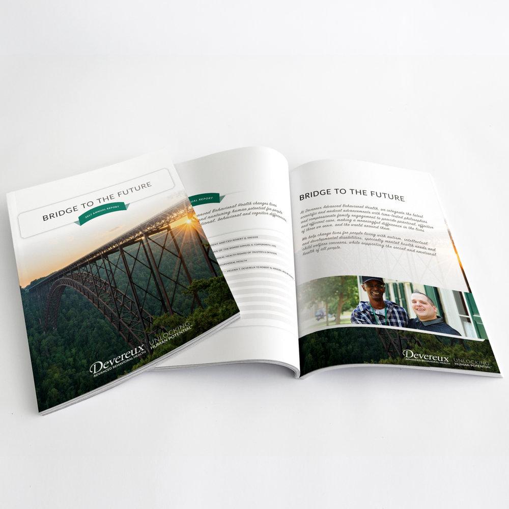 Devereux | 2017 Annual Report | Bridge to the Future