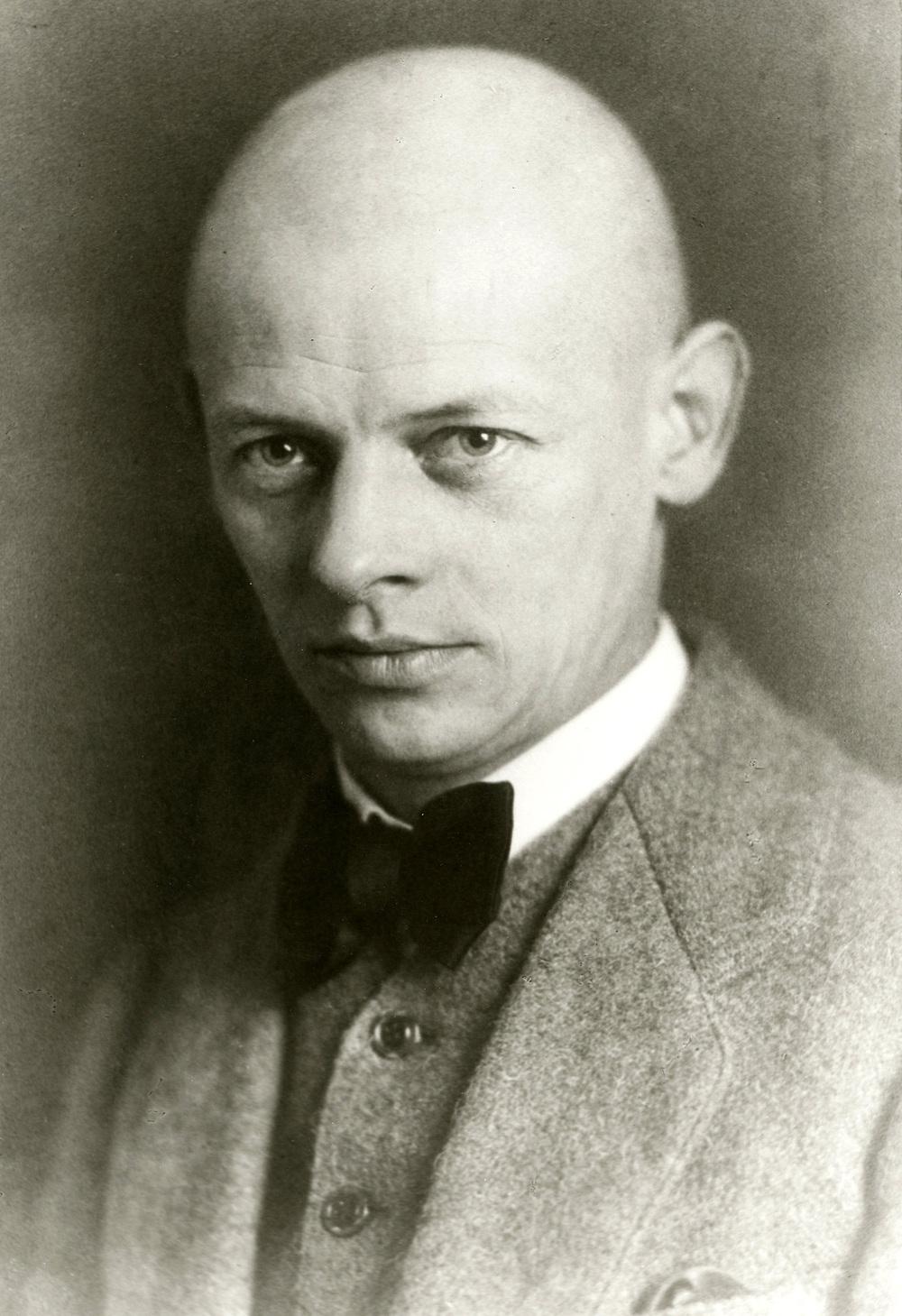 Retrato de Oskar Schlemmer