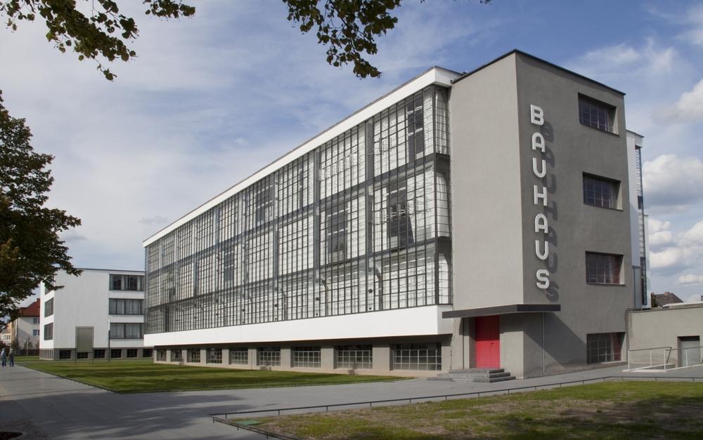 Fachada do prédio original da Bauhaus