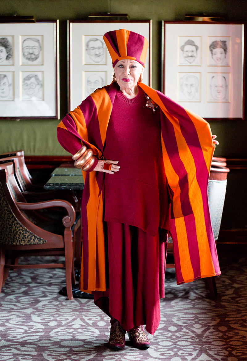 Lynn Dell Cohen (79) e seu estilo ousado