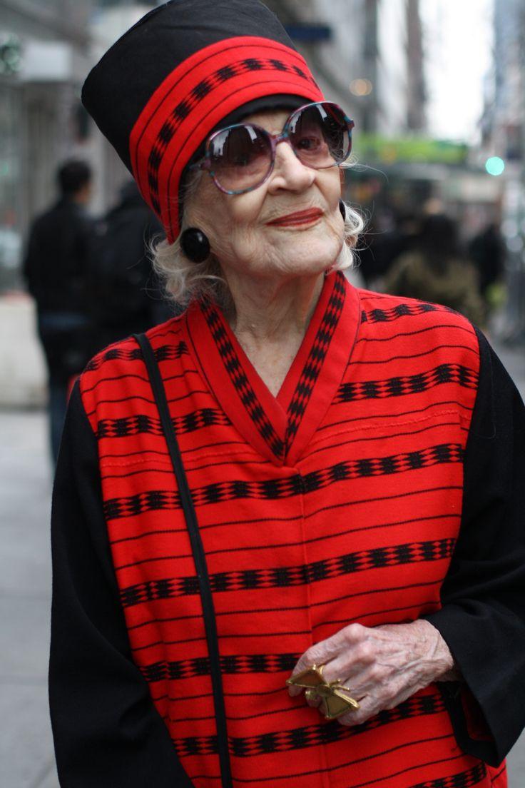 Zelda Kaplan: um ícone fashion aos 95