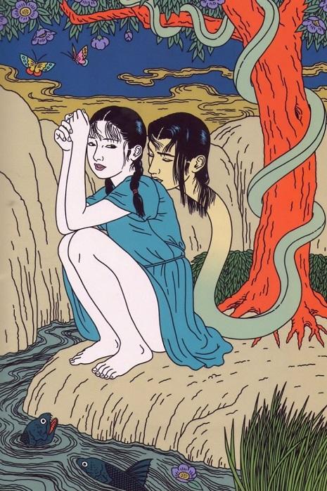 A arte de Toshio Saeki flerta com o erotismo e o absurdo