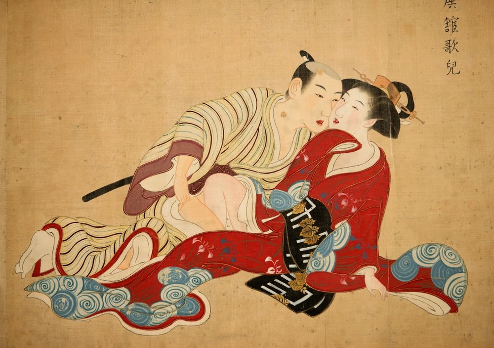 Tsukioka Settei (atribuído a),  Imagens de Primavera  (1710-1787)