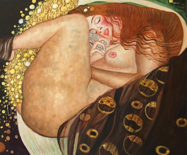 'Danaë' (1907), de Gustav Klimt