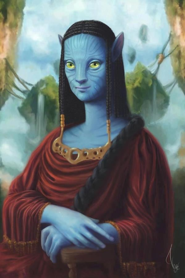 5 - Mona Lisa avatar