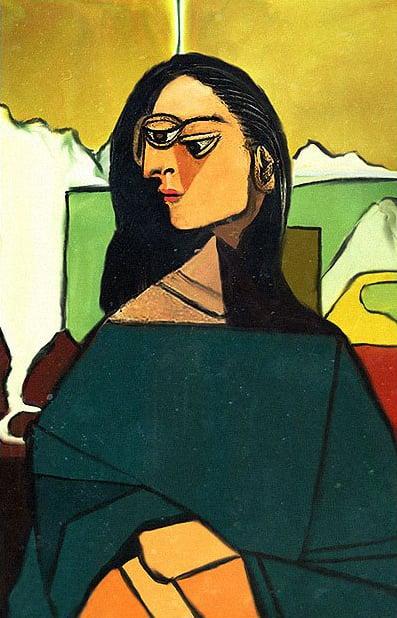 6 - Mona Lisa cubista