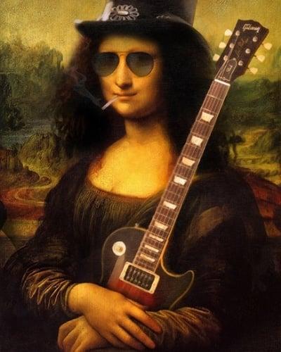 15 - Mona Lisa roqueira, de Will Knack